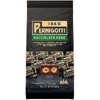 Confiserie De Chocolat - Barre Chocolatee PERNIGOTTI Pralines Gianduja au chocolat noir avec deux noisettes entieres grillees - 130 g