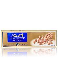 Confiserie De Chocolat - Barre Chocolatee Tablette de Chocolat Lindt Gold/Swiss Premium Lait Noisettes - 300G - Aucune
