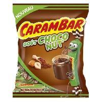 Confiserie De Sucre - Bonbon Bonbons Choco Nut'. parfum chocolat-noisette - 250 g