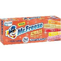 Confiserie De Sucre - Bonbon Sucettes a congeler Big Pop Mr Freeze acidules - 20x 45 ml
