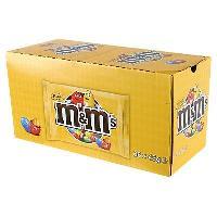 Confiserie MetM'S Peanut Pack sachets de bonbons au chocolat au lait - 36x 45 g M&ms