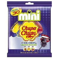 Confiserie Mini Sucettes Colors. gouts assortis - 30x 6 g