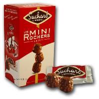 Confiserie Mini rochers chocolat au lait Suchard. eclats de noisettes fourres au praline noisettes - 192 g
