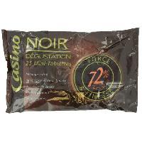 Confiserie Mini tablettes de chocolat noir Dégustation - 200 g - Aucune