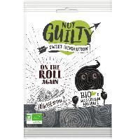 Confiserie NOT GUILTY Bonbons a la Réglisse Sachet de On the Roll Again Réglisse - BIO - 90 g Aucune