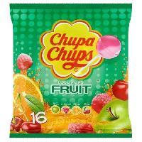 Confiserie Sucettes Lollipops au gouts de fruits - 192 g
