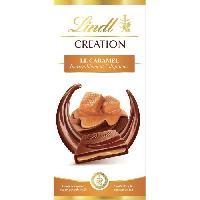 Confiserie Tablette de Chocolat Lindt Creation  Le Caramel - 150G - Aucune