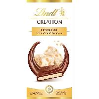Confiserie Tablette de Chocolat Lindt Creation  Le Nougat  - 150G - Aucune
