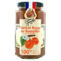 Confiture - Gelee - Marmelade Confiture Abricots Rouges du Roussillon - 100 Fruits - 300 g