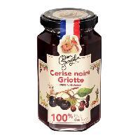 Confiture - Gelee - Marmelade Confiture Cerises Noires Griottes - 100 Fruits - 300 g