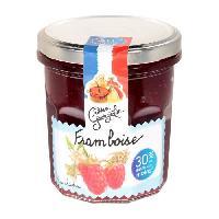 Confiture - Gelee - Marmelade Confiture Extra Allegee Framboises - 320 g