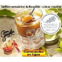 Confiture - Gelee - Marmelade Confiture Extra d'Abricot du Roussillon 350g - Lucien Georgelin
