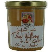 Confiture - Gelee - Marmelade Confiture Extra de Poire Williams a la vanille 350g