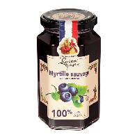 Confiture - Gelee - Marmelade Confiture Myrtilles Sauvages - 100 Fruits - 300 g