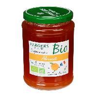Confiture - Gelee - Marmelade Confiture extra abricot bio - Vergers des Alpilles - 370 g - Generique