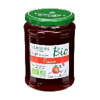 Confiture - Gelee - Marmelade Confiture extra fraise bio - Vergers des Alpilles - 370 g