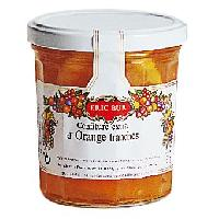Confiture - Gelee - Marmelade Confiture orange en tranches - Eric BUR