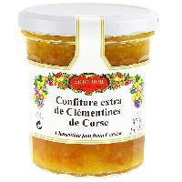 Confiture - Gelee - Marmelade ERIC BUR Confiture de Clémentine Corse - 360 g
