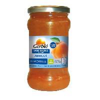 Confiture - Gelee - Marmelade GERBLE Confiture a l'abricot sans sucres ajoutés - 320 g
