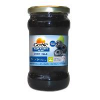 Confiture - Gelee - Marmelade GERBLE Confiture de myrtille sans sucres ajoutés - 320 g