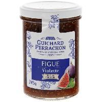 Confiture - Gelee - Marmelade GUICHARD PERRACHON Confiture de Figues & Violettes - 245 g