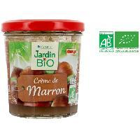 Confiture - Gelee - Marmelade JARDIN BIO Confiture Creme de Marron bio - 300 g