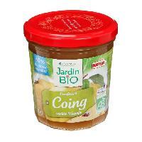 Confiture - Gelee - Marmelade JARDIN BIO Confiture de coing bio - 320 g