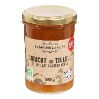 Confiture - Gelee - Marmelade LA BARONNIE DES LYS Confiture d'abricot au tilleul et huile essentielle bio - 250 g - Generique