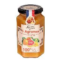 Confiture - Gelee - Marmelade LUCIEN GEORGELIN Confiture 5 Agrumes - 100 Fruits - 300 g