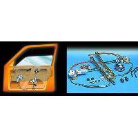Confort Conducteur Et Passager KIT DE LEVE VITRE ARRIERE compatible NISSAN PATROL 12V 4P 5INTER UNIV TYPE C ADAPTABLE - ADNAuto