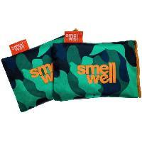 Confort Conducteur Et Passager SmellWell Active - Camo Green - pochons  désodorisants 3-en-1 Aucune