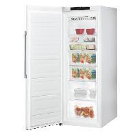 Congelateur Porte HOTPOINT UH61TW.1 - Congélateur armoire - 232 L - Froid statique - A+ - L 59.5 x H 167 cm - Blanc