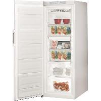Congelateur Porte INDESIT ZIU6F1TW - Congélateur armoire - 222 L - Froid no frost - A+ - L 60 x H 167 cm