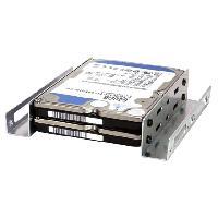 Connectique - Alimentation Adaptateur de baie 2.5p vers 3.5p Rails Disque Dur ADNAuto