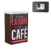 Conservation Des Aliments LA BOITE A Boîte a café BT6705