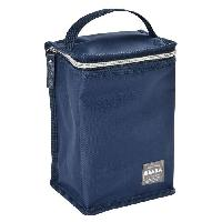Conservation Repas BEABA Pochette repas isotherme blue/silver