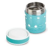Conservation Repas Boite thermique alimentaire en acier inoxydable 350ml - Pois Turquoise