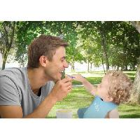 Conservation Repas MINILAND - Thermos pour purées et aliments solides avec hermétiques. Thermetic azure