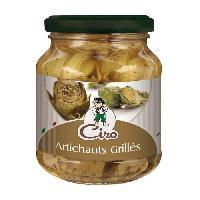 Conserve De Legume Antipasti Artichauts grilles - 314 ml