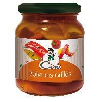 Conserve De Legume Antipasti Poivrons grilles - 314 ml