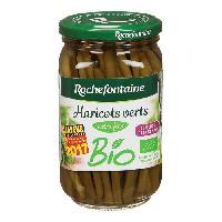 Conserve De Legume Bocal de Haricots verts extra fins - Bio - 180g