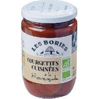 Conserve De Legume Courgettes a la Provencale Bio - 585g
