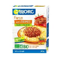 Conserve De Legume Farce aux legumes Bio 240g