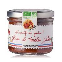 Conserve De Legume LUCIEN GEORGELIN Specialite a tartiner a base d'Olives et de Tomates Sechees - BIO - 100 g