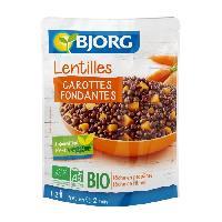 Conserve De Legume Lentilles Carottes Doy Pack Bio 250g