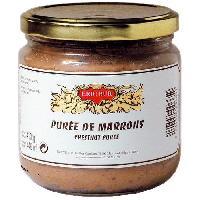 Conserve De Legume Puree de Marrons 380g
