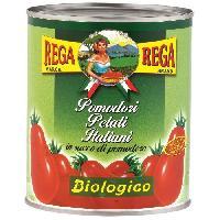 Conserve De Legume REGA Tomates Pelees Bio 800g