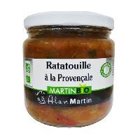 Conserve De Legume Ratatouilles a la Provencale BIO 380G