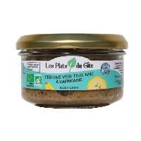 Conserve De Legume Terrine Vegetarienne a l'Africaine - Bio - Vegan - 120 g