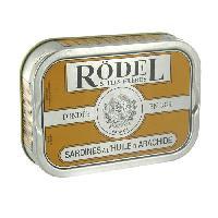 Conserve De Poisson Sardines huile arachide 115g